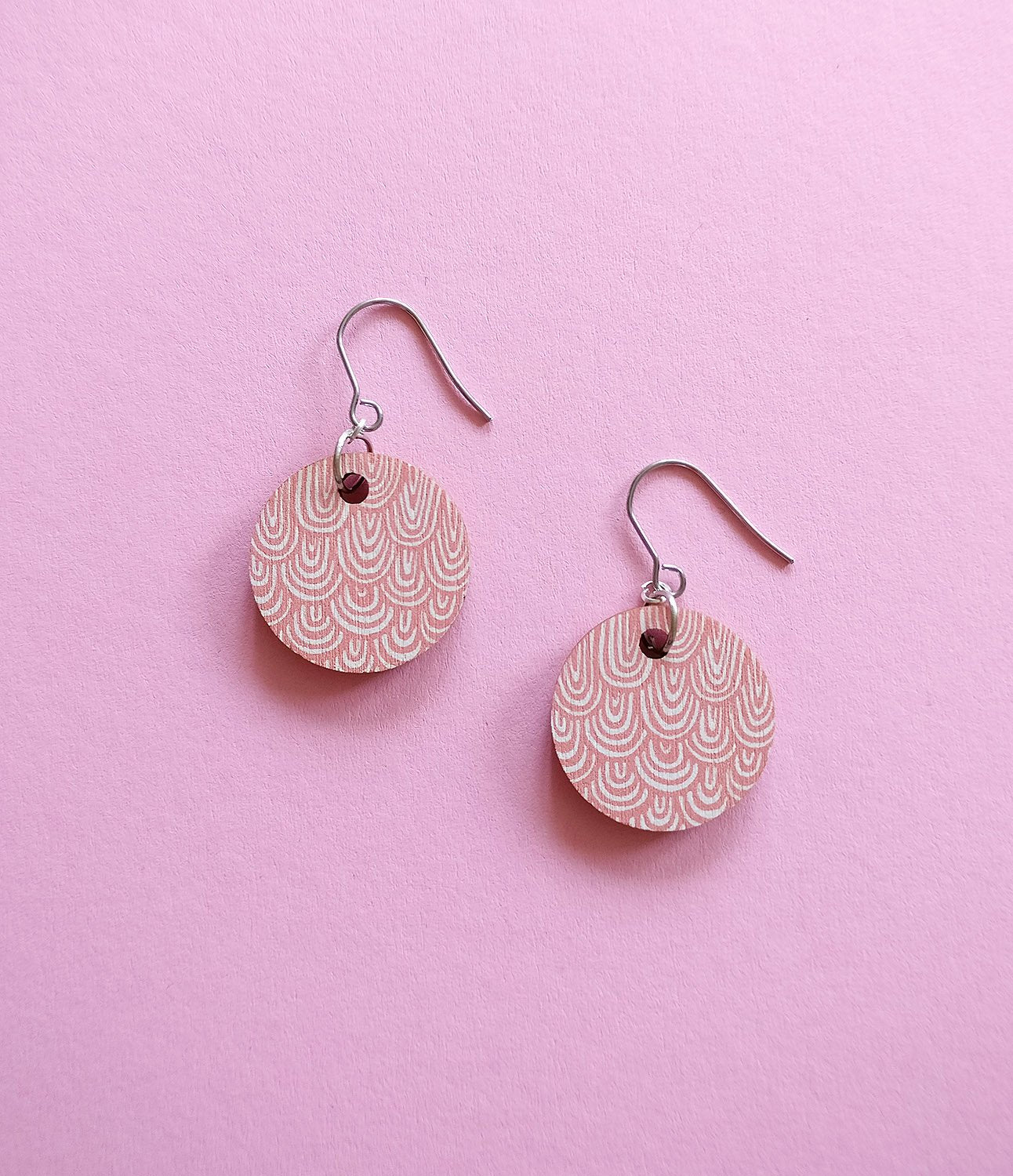 Laine Earrings Pink