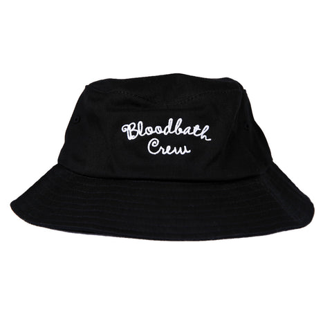 Crew Bucket Hat - Black