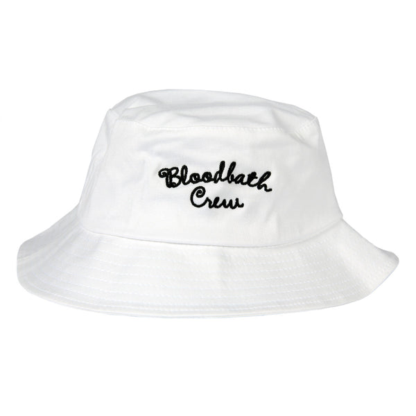 Crew Bucket Hat - White