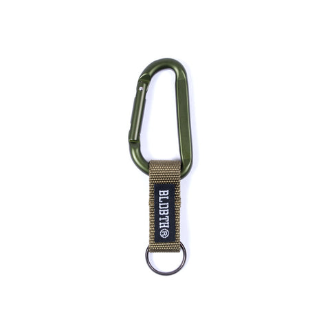 Bloodbath 80mm Carabiner - Olive Drab