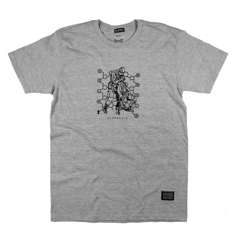 Cold World Tee - H. Grey