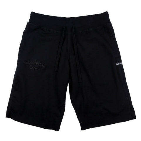 Crew Fleece Shorts - Black