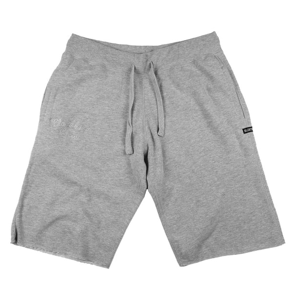 Crew Fleece Shorts - Heather Grey