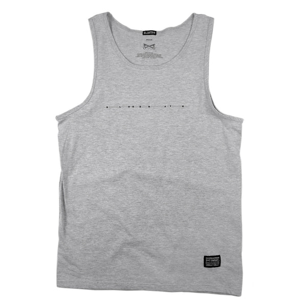 Headline Tank Top - H. Grey