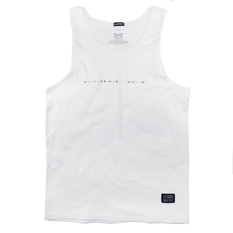 Headline Tank Top - White