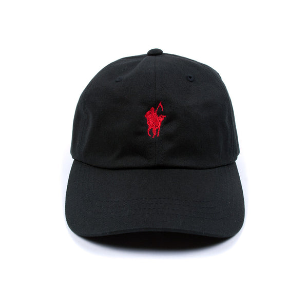 Pale Horse Low Profile Sports Cap - Black