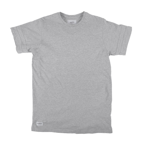 Madison Extended Tee - H. Grey