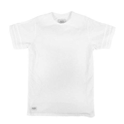 Madison Extended Tee - White