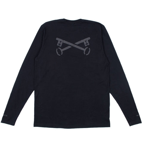 Keys LS Tee - Black