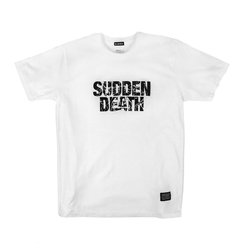 Sudden Death Tee - White