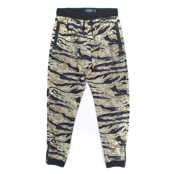 Resistance Windpants - Green Tiger Camo