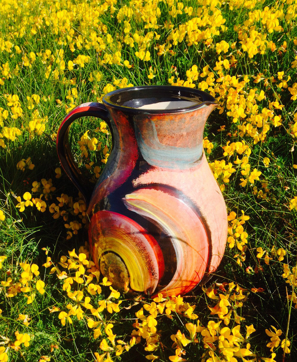 Large Dingle Pottery Jug