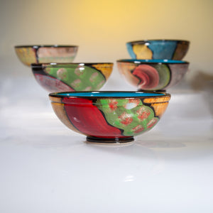 Medium Sized Ceramic Breakfast Bowls