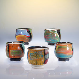 Hand Decorated Tea Bowls