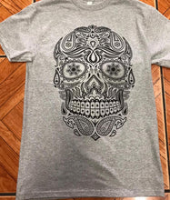 Load image into Gallery viewer, Skull #gray Tshirt