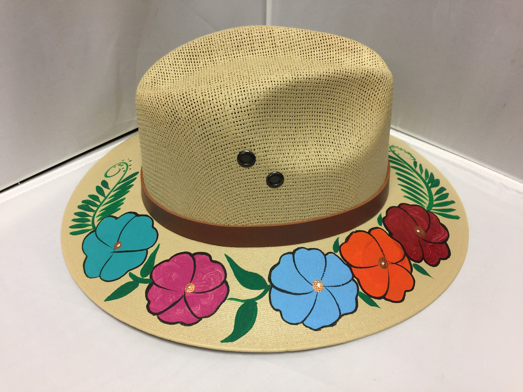 Mexican Hand painted Hat/Sombrero
