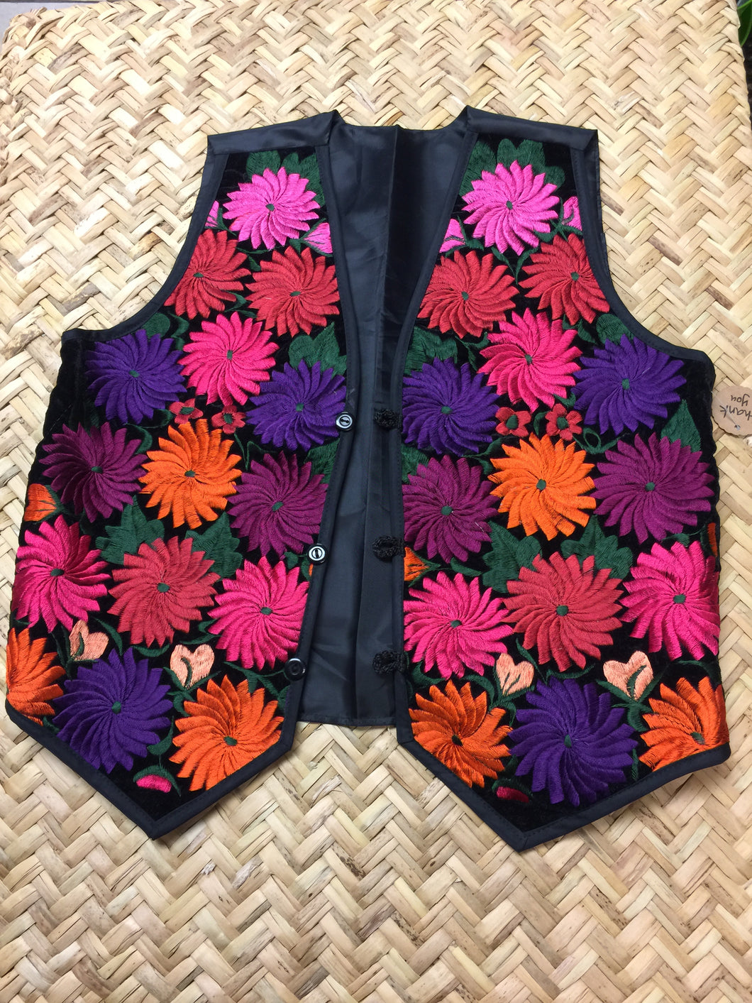 Embroidery vest from Chiapas