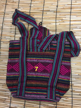 Load image into Gallery viewer, Mochilas Rasta/Boho Backpack style#Small