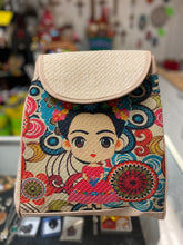 Load image into Gallery viewer, Bag Frida Kahlo backpack