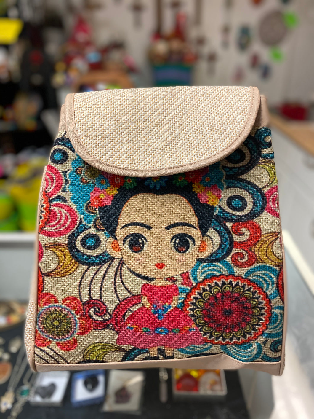 Bag Frida Kahlo backpack