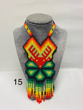 Load image into Gallery viewer, Beaded Huichol Art Necklace