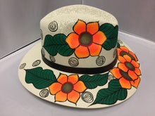 Load image into Gallery viewer, Hand painted Hat/ Sombrero