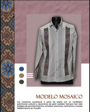 Load image into Gallery viewer, Guayabera Modelo Mosaico