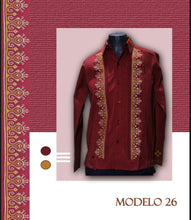 Load image into Gallery viewer, Guayabera Modelo #26