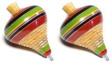 Load image into Gallery viewer, Trompo Mexican Wooden Spinning Top Toy