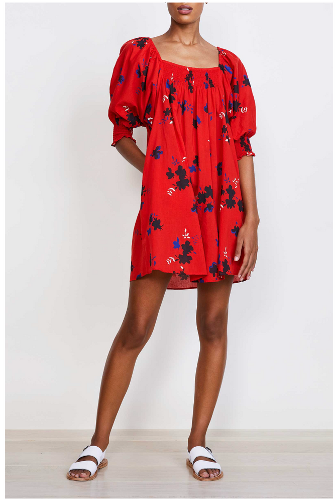Inacea Balloon Sleeve Dress