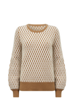 Load image into Gallery viewer, Karate Kid Sweater-Camel/Cream