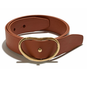 Wide Georgia Belt- Tan