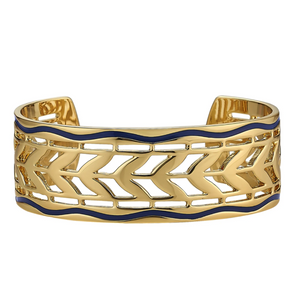 Load image into Gallery viewer, Skinny Cala Cuff- Navy