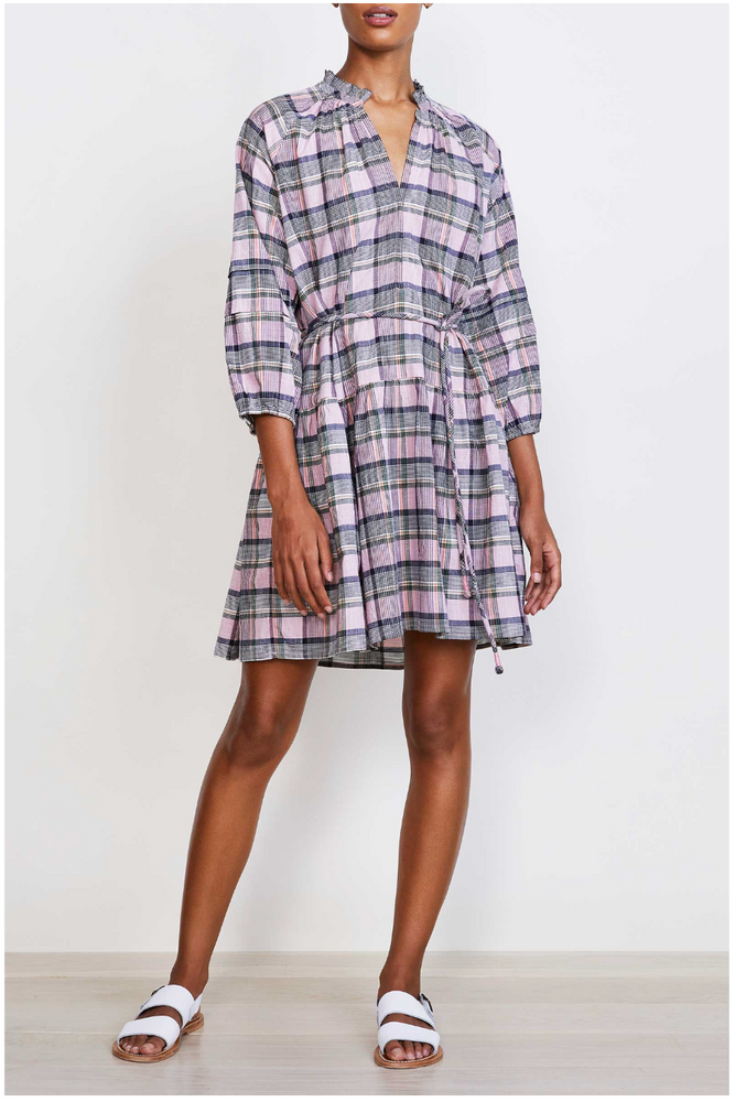 Laguna Mini Dress-Madras