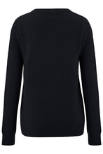 Load image into Gallery viewer, Say Anything Sweater- Black