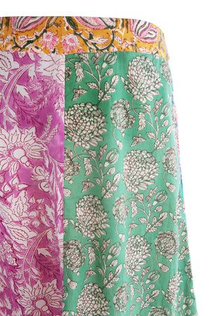 Load image into Gallery viewer, Lili Flower Panel Skirt