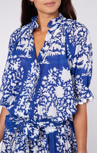 Load image into Gallery viewer, Palladio Print Blouson Dress- Blue