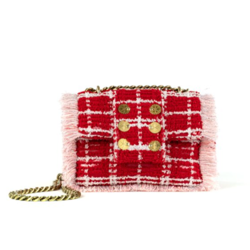 Petite Pillow Tweed- Red Sulya