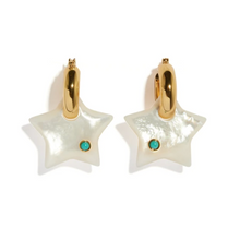Load image into Gallery viewer, Jumelle Star Earrings