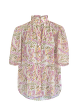 Load image into Gallery viewer, Winnie Free Bird Short Sleeve Blouse