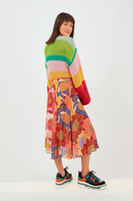 Load image into Gallery viewer, Mix Prints Midi Skirt