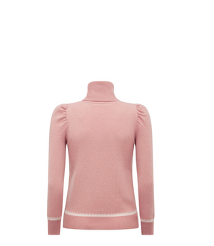 Load image into Gallery viewer, Foster Sweater-Pink/Cream