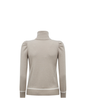 Load image into Gallery viewer, Foster Sweater-Sage Grey/Cream