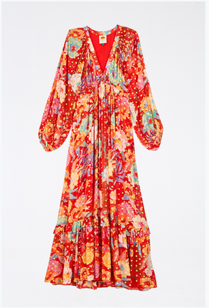 Load image into Gallery viewer, Hudson Floral Maxi Dress