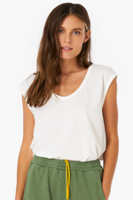 Laila Top- White Wash