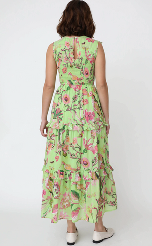 Iris Dress Jubilee Pistachio Green