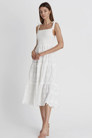 Load image into Gallery viewer, Avril Midi Dress-Camelia
