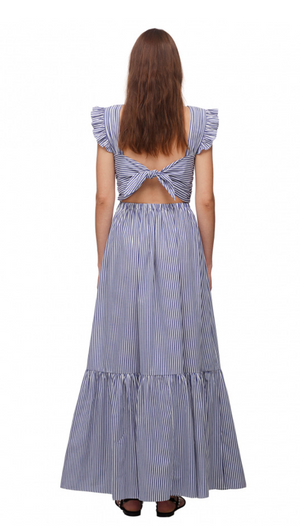 Load image into Gallery viewer, Stripe Cotton Maxi