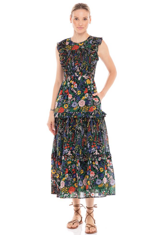Load image into Gallery viewer, Iris Dress-Black