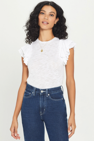 Load image into Gallery viewer, Double Ruffle Tee